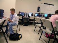 studenci na zajęciach